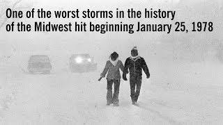 Blizzard of 1978 in Michigan