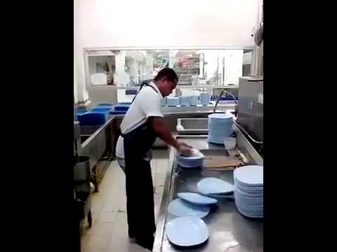 Washing Dishes-  Fast And Furious