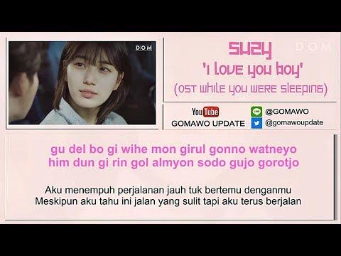 Easy Lyric SUZY - I LOVE YOU BOY by GOMAWO [Indo Sub]