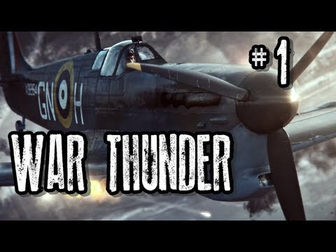 War Thunder - British Counterpart - Episode 1 INSTINCTIVELY FLYING