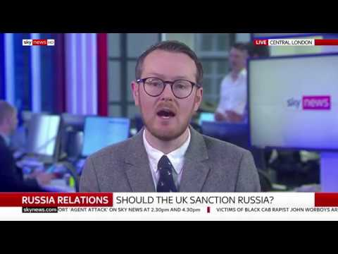 Dr Andrew Foxall on Sky News Sunrise discussing UK-Russia relations