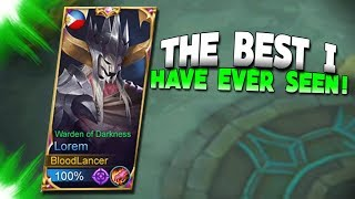 NEW HERO LOREM IS SICK! | Fan Made | Mobile Legends