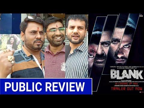 Blank Public Review,Blank Movie Review,Blank Public Reaction,Sunny Deol,Karan Kapadia,Blank Review