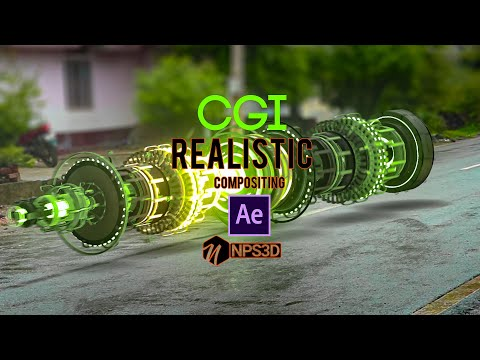 Realistic CGI Compositing | After Effects & Element 3D | Tutorial |2020 | NPS3D