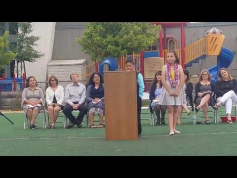 Anne Darling elementary school, promotio June 8th 2017