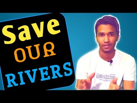 Save Our Rivers || Rivers Condition In our country || Save water || By Vikash Tiwari ||