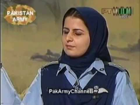 Interview  Flight Lieutenant Saba Khan from Quetta Balochistan