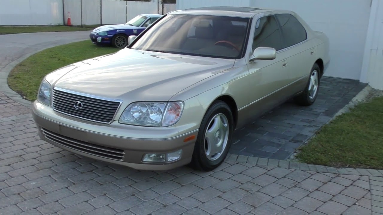 This 1999 Lexus LS400 Was The Ultimate Version Of The Car
