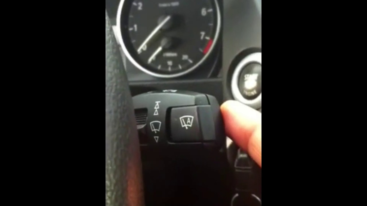 How To Activate Bmw Headlight Washer 2012 X1 Youtube Location Of Front Fuse Box In 2007 2013 X5