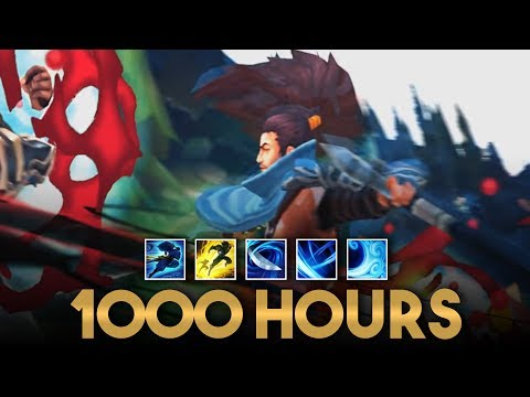 What 1000 Hours of Yasuo Experience Looks Like - League of Legends