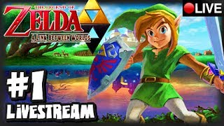 The Legend of Zelda A Link Between Worlds 3DS - Part 1 LIVESTREAM