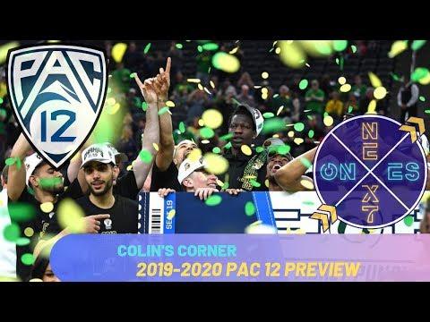 Pac 12 Basketball Preview : 2019-2020   Who Will Challenge The Washington Huskies?   Colin's Corner