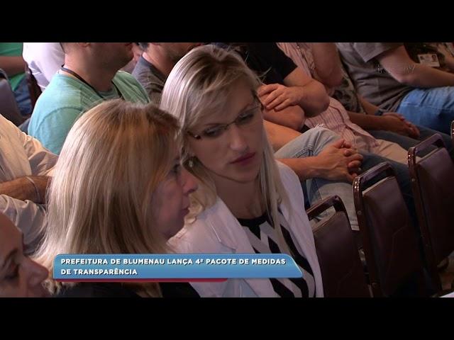 Prefeitura de Blumenau lança 4º pacote de medidas de transparência