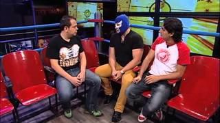 Blue Demon Jr. opina sobre Diamante Azul, personaje del CMLL (06-03-2013)
