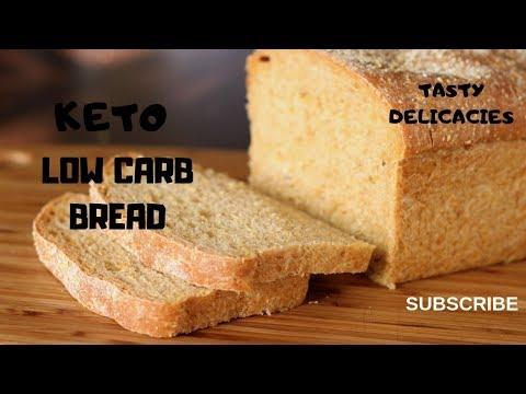 Keto Bread Recipe -- Low Carb Almond Flour Gluten Free Recipe