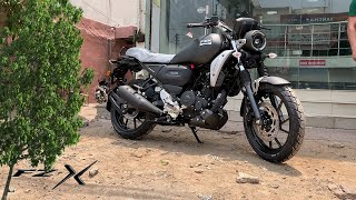 All- New Yamaha FZ-X 150 Black Color Looks More Decent   ₹ 1.16 Lakh Comfort With Looks !