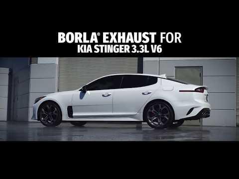 Borla Exhaust For The 2018+ Kia Stinger 3.3L