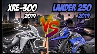 Comparativo: Honda XRE 300 X Yamaha Lander 250 - MELHOR VÍDEO