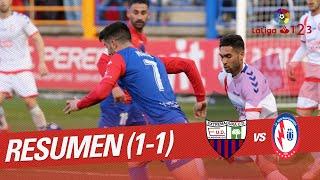 Resumen de Extremadura UD vs CF Rayo Majadahonda (1-1)