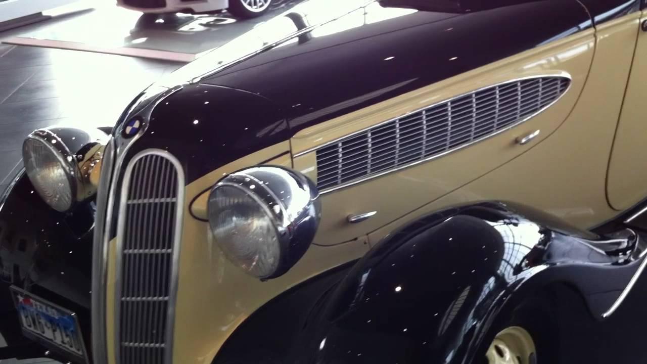 1939 BMW 321 Drauz Cabriolet - YouTube