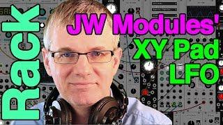 Tutorial - XY Pad LFO module by JW Modules for VCV Rack