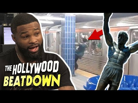 Tyron Woodley Says Eagles Fans Are Out of Control! | The Hollywood Beatdown