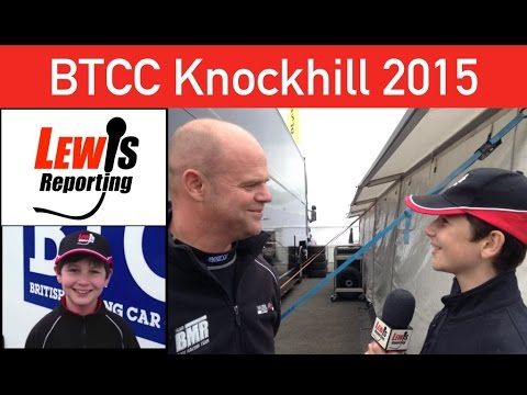 Warren Scott - TeamBMR - BTCC Knockhill 2015 (Before Quali)