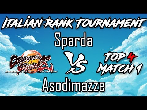 DbFZ: Sparda VS Asodimazze (IRT - Top4 - Match 1)