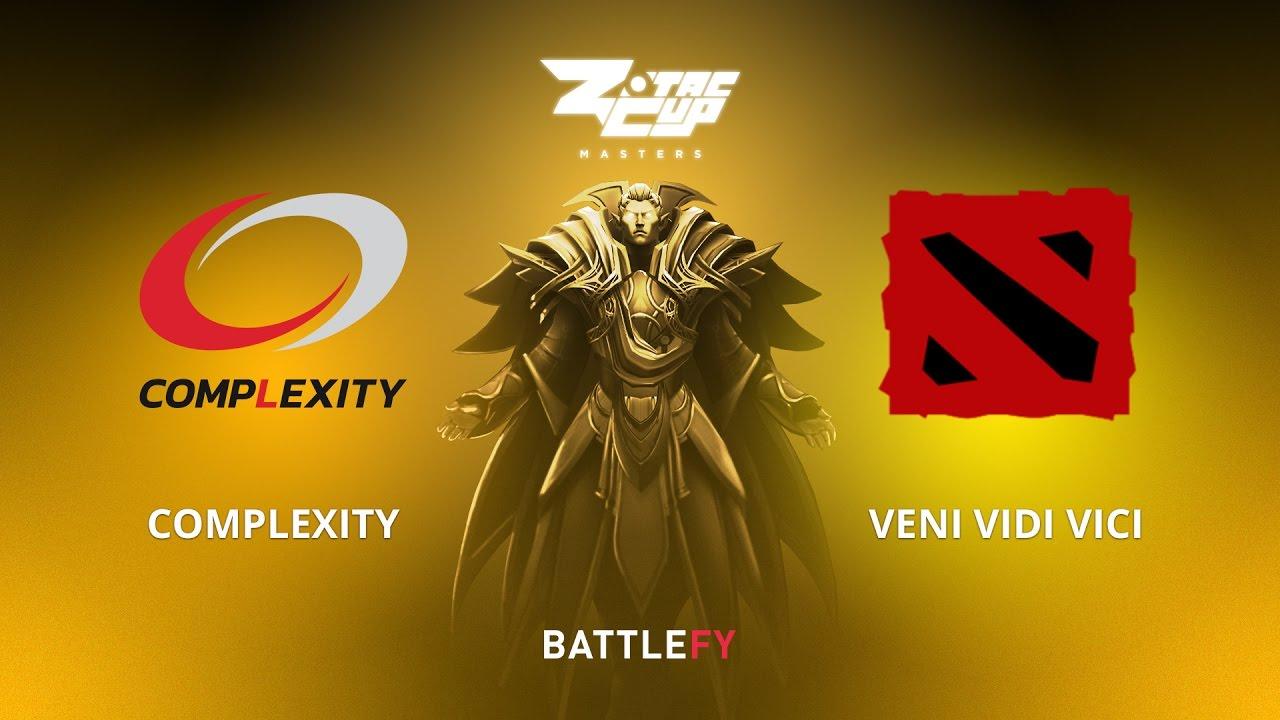 compLexity vs Veni Vidi Vici, Game 2, Zotac Cup Masters, AM Qualifier
