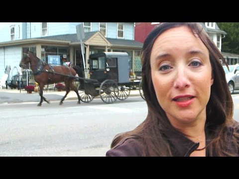 A DAY IN AMISH COUNTRY!