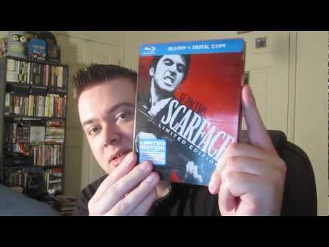 Scarface Blu-Ray Limited Edition Steelbook Unboxing Review
