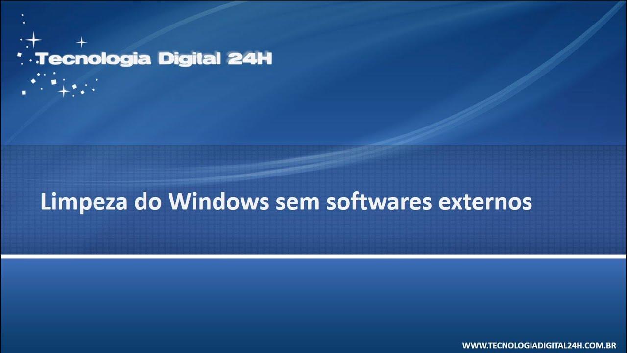 Limpeza de Disco do Windows (cleanmgr.exe) - YouTube