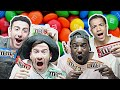 AMERICAN M&M FLAVORS TASTE TEST!!