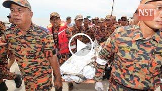 Sebuyau heli crash: First body recovered