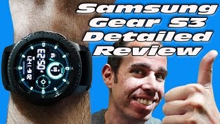Samsung Gear S3 In Depth Review