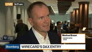 Wirecard Ceo On Dax Entry, Growth Drivers, Company Outlook