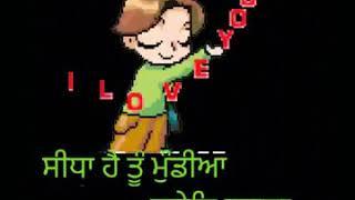 Cute munde song