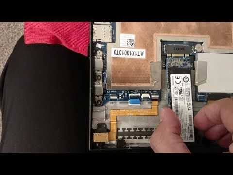 Dell Latitude 7285 Hands on and partial teardown/disassemble