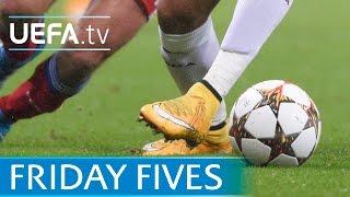 Ronaldinho, Falcao, Ronaldo: 5 stepover kings