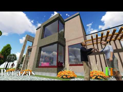 Ultra Modern House Design with an excellent finishing: 3D Lumion animation video
