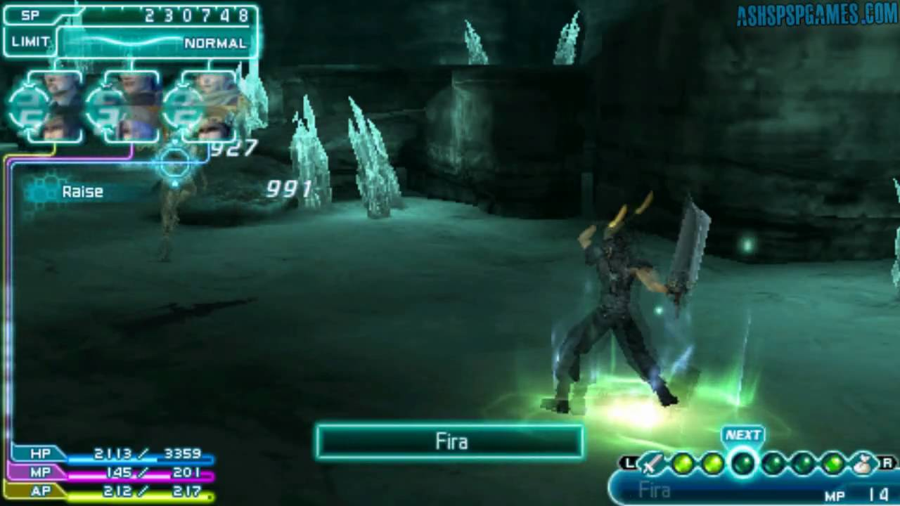 how to play final fantasy 7 crisis core on pc