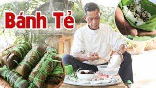 Ông Thọ Làm Bánh Tẻ Ngon Chuẩn Vị, Đãi Cả Nhà Ngày Cuối Tuần | Rice Cake (filled with browned onion)