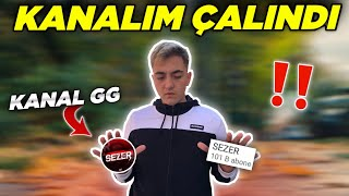 YOUTUBE KANALIM ÇALINDI!! 😔