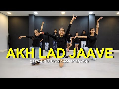 Akh Lad Jaave Dance   Class   Kids  Loveyatri  Deepak Tulsyan Choreography