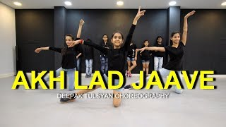 Akh Lad Jaave Dance | Full Class Video | Kids | Loveyatri | Deepak Tulsyan Choreography