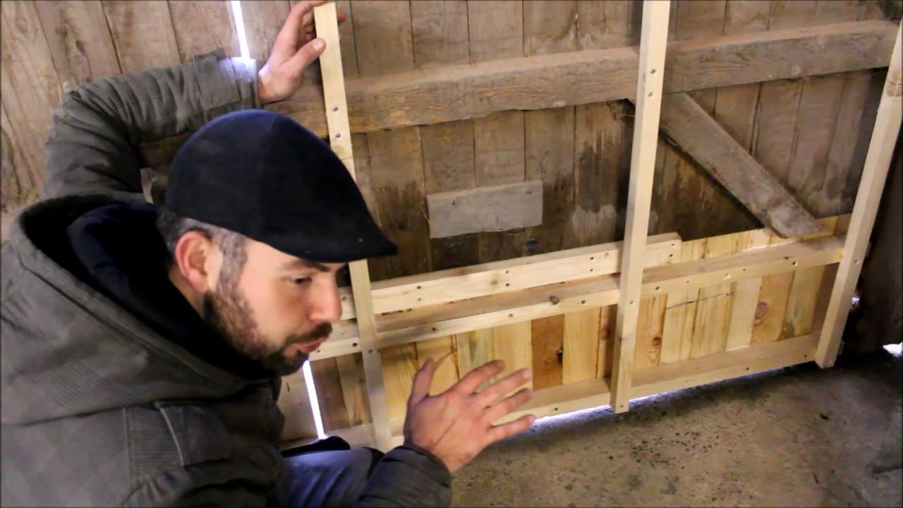 Comment Rénover Une Porte En Bois restauration d'une porte de grange - partie 2.2 - reconstruction du bas de  la porte
