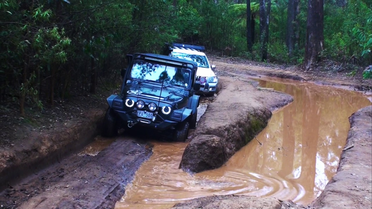 Off-Road 4x4 in Murrindindi, Melbourne