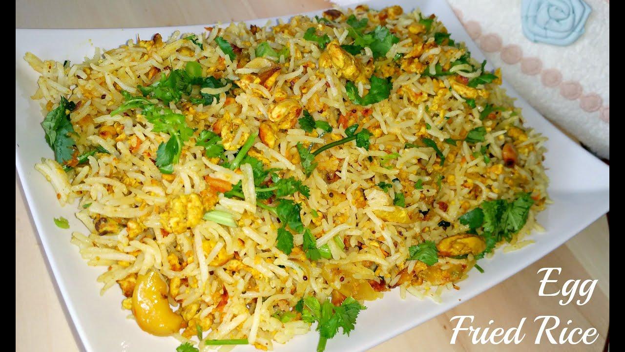 Egg Fried Rice Recipe — Dishmaps