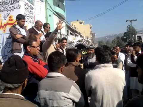 Shaheed Chowk demands answers from PK's ISI - Kotli (1) 15/12/11