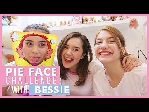 Beby Vlog #64 - PIE FACE CHALLENGE WITH BESSIE